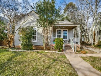 Fort Worth Single Family Home For Sale: 3934 Collinwood Avenue