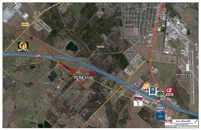 Terrell, Poetry Commercial Lots & Land For Sale: Interstate 20 Highway