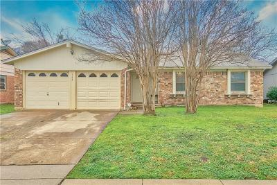 Lewisville Single Family Home Active Option Contract: 743 Price Drive
