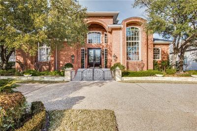 Irving Single Family Home Active Option Contract: 1809 Cottonwood Valley Circle S