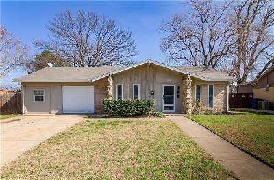 Irving Single Family Home For Sale: 1704 Oak Lake Drive