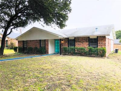 Plano Single Family Home Active Contingent: 1428 Big Bend Drive