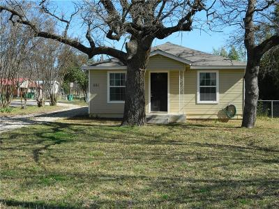 Erath County Single Family Home Active Contingent: 501 Dublin Avenue