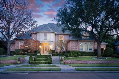 Plano Single Family Home Active Option Contract: 6404 Indian Trail