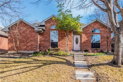 Carrollton Single Family Home For Sale: 2116 Daniel Way