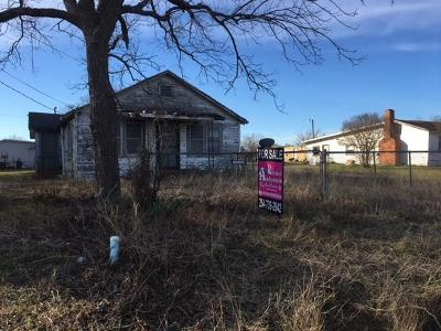 Coolidge, Mexia, Mount Calm Residential Lots & Land For Sale: 1306 E Milam Street