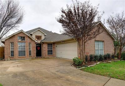 Keller Single Family Home Active Option Contract: 1735 Chatham Lane