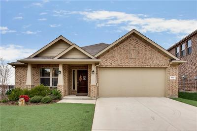 Frisco Single Family Home Active Option Contract: 4613 River Edge Place