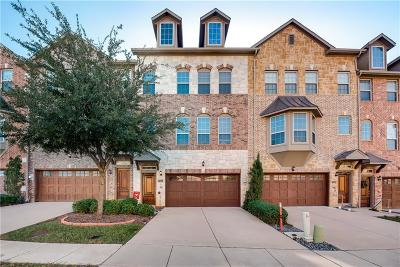 Irving Townhouse Active Option Contract: 7852 Liverpool Lane