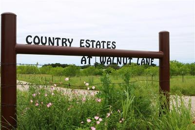 Brock Residential Lots & Land For Sale: 109 Walnut Lane