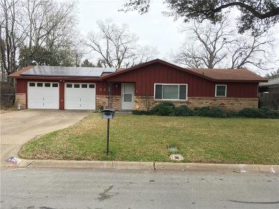 Hurst, Euless, Bedford Single Family Home For Sale: 324 Ridgecrest Drive