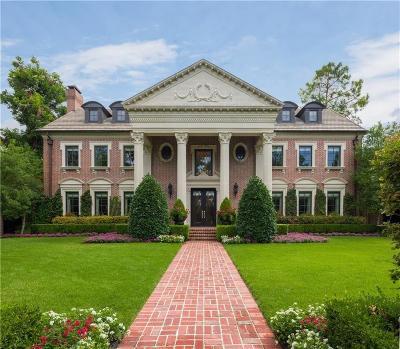 Highland Park Single Family Home For Sale: 3608 Lexington Avenue