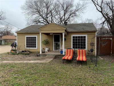 Irving Single Family Home For Sale: 102 W Grauwyler Road