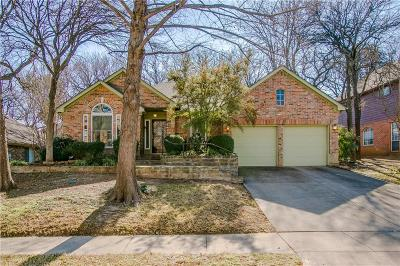 Grapevine Single Family Home For Sale: 1809 Rolling Ridge Drive