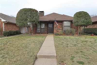 Lewisville Single Family Home Active Option Contract: 757 Red Oak Drive