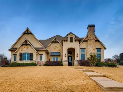 Flower Mound Single Family Home Active Option Contract: 5500 Lake Geneva Court