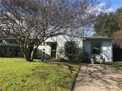 Farmers Branch Single Family Home Active Option Contract: 13015 Wilmington Drive