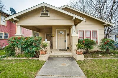Fort Worth Single Family Home For Sale: 1114 E Terrell Avenue