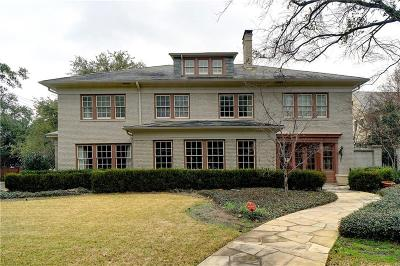 Highland Park Single Family Home For Sale: 3736 Potomac Avenue