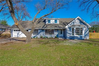 Fort Worth Single Family Home For Sale: 3208 Wren Avenue