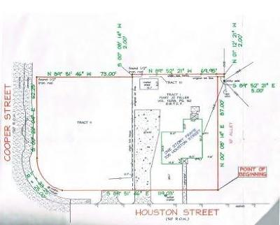 Arlington Residential Lots & Land For Sale: 708 Houston Street