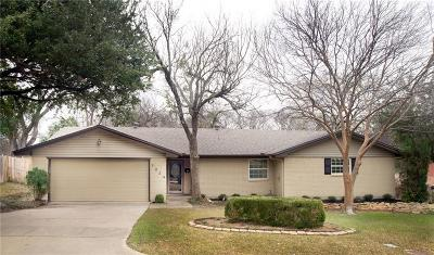 Richland Hills Single Family Home Active Option Contract: 3024 Dreeben Drive