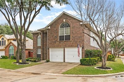 Irving Single Family Home Active Option Contract: 100 Fallen Leaf Court