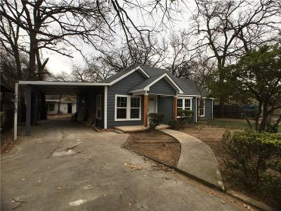 Dallas, Fort Worth Single Family Home For Sale: 5109 Nell Street