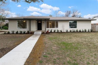 Farmers Branch Single Family Home Active Contingent: 2980 Lavita Lane
