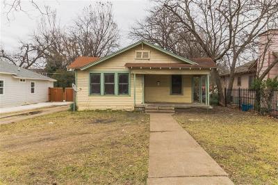 Dallas Single Family Home For Sale: 916 S Rosemont Avenue