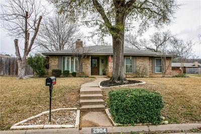 Grapevine Single Family Home For Sale: 2904 Canyon Drive
