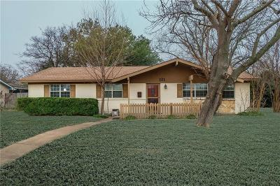 Richardson Single Family Home For Sale: 121 N Briarcrest Drive