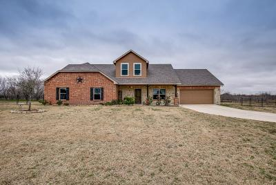 Terrell Single Family Home Active Option Contract: 15022 Saddle Ridge Circle