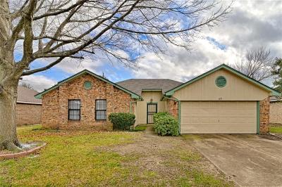 Cedar Hill Single Family Home For Sale: 815 Simon Drive