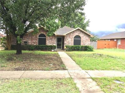 Lancaster Single Family Home Active Option Contract: 1116 Becky Lane