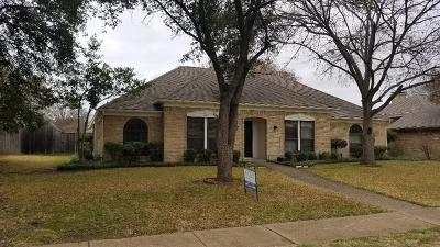 Richardson Single Family Home For Sale: 1511 Potomac Drive