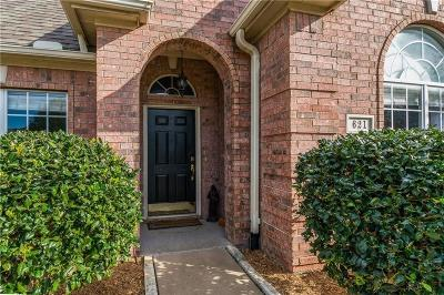 Sherman Single Family Home For Sale: 621 Clay Lane
