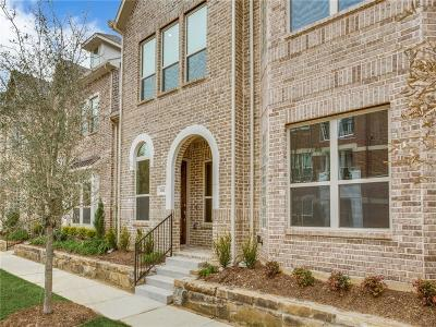 Flower Mound Townhouse For Sale: 4161 Broadway Avenue