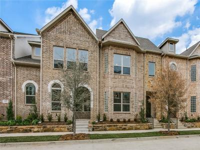 Flower Mound Townhouse For Sale: 4165 Broadway Avenue