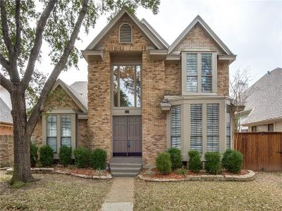 Irving Single Family Home Active Option Contract: 404 Sheridan Trail