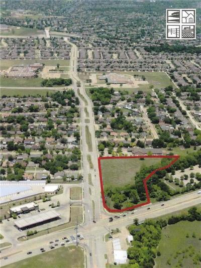 Rowlett Commercial Lots & Land For Sale: 1424 Chiesa Road