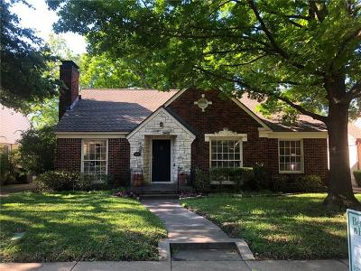 Dallas Single Family Home For Sale: 6038 Anita Street