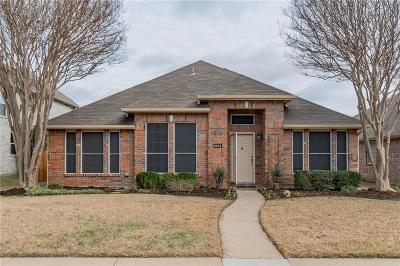 Frisco Single Family Home Active Option Contract: 6004 Arlington Drive