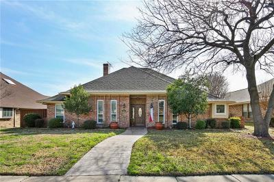 Plano Single Family Home Active Option Contract: 2228 Chadbourne Drive