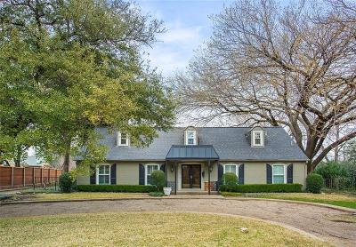 Richardson Single Family Home Active Option Contract: 9 Briarwood Circle