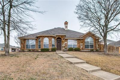 Rowlett Single Family Home Active Option Contract: 8109 Evening Star Drive