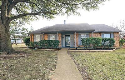 Flower Mound Single Family Home Active Option Contract: 2841 Dickens Lane
