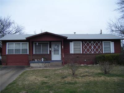 Parker County Single Family Home Active Option Contract: 507 E 5th Street