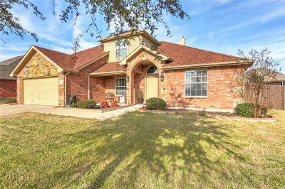 Cleburne Single Family Home For Sale: 1712 Lakeway Drive