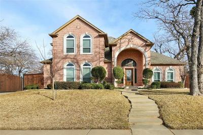 North Richland Hills Single Family Home Active Option Contract: 8228 Fenwick Drive